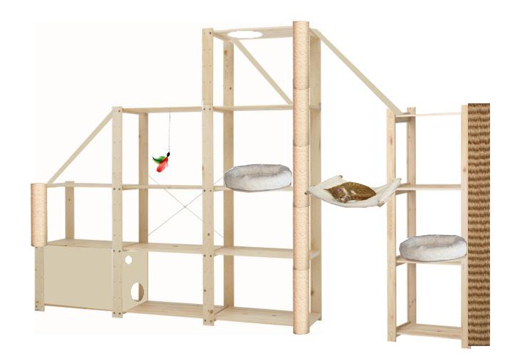 katzen catwalk bauen die neuesten innenarchitekturideen. Black Bedroom Furniture Sets. Home Design Ideas