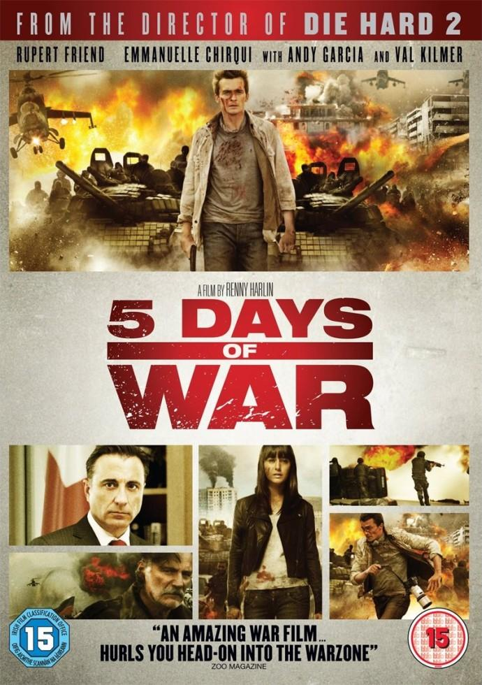 5 days of august full izle