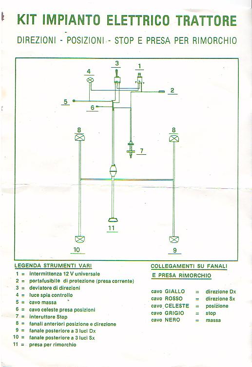 Schema Elettrico Trattore : Schema elettrico trattore same multisicuragri impianto