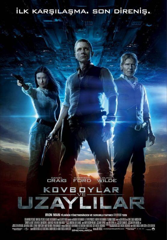 Cowboys And Aliens – Kovboylar ve Uzaylılar Filmi İzle