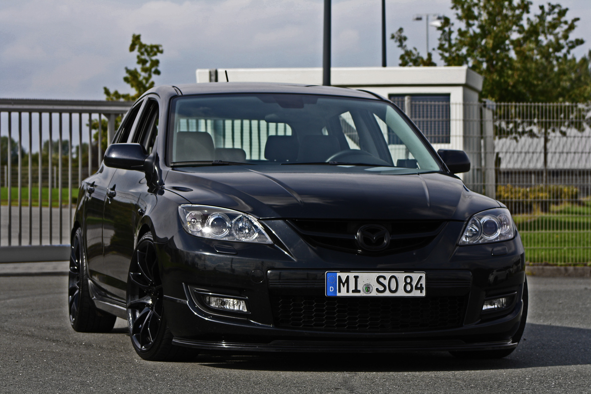 Image gallery 3 black mazdaspeed for Mazdaspeed 6 exterior mods