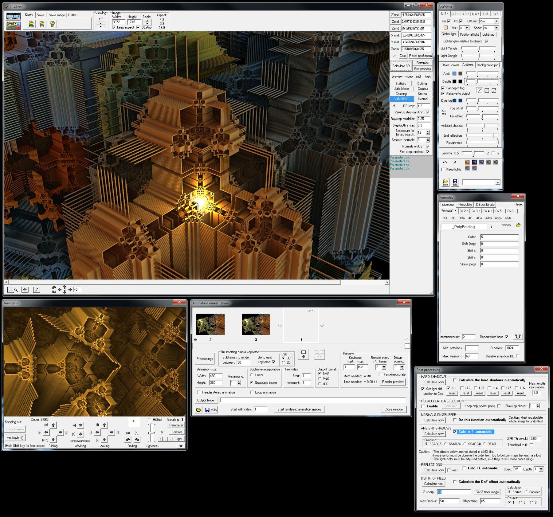 Mandelbulb 3D 1 9 9 - 3D-Fraktal-Explorer/Renderer/Animator - EFB