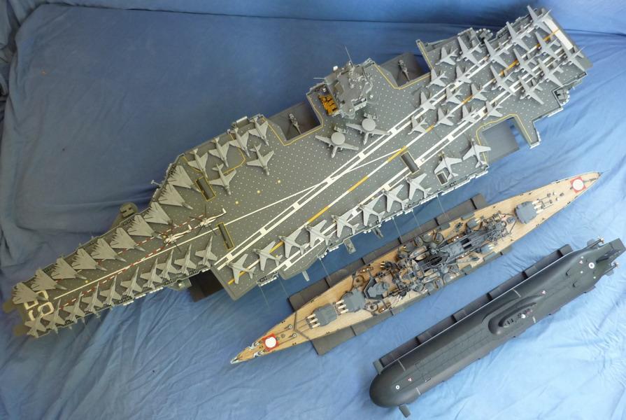 Schlachtschiff Scharnhorst Dragon 1 350