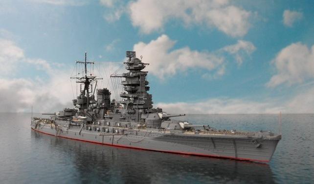 Entfernungsmesser Schlachtschiff : Nagato japanisches schlachtschiff