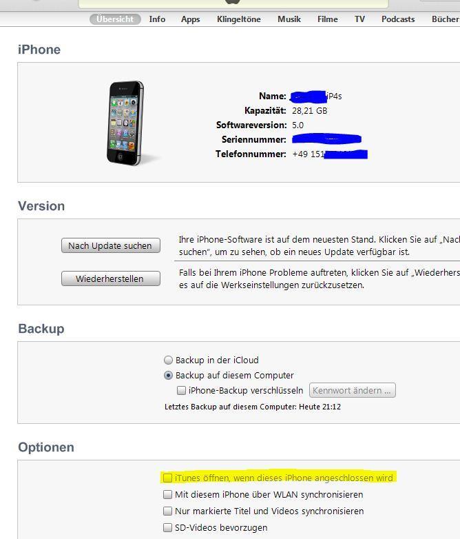 Iphone geht nicht an und wird nicht bei itunes erkannt