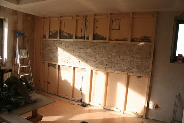natursteinwand wohnzimmer platten bauthread cinelounge seite - Natursteinwand Wohnzimmer
