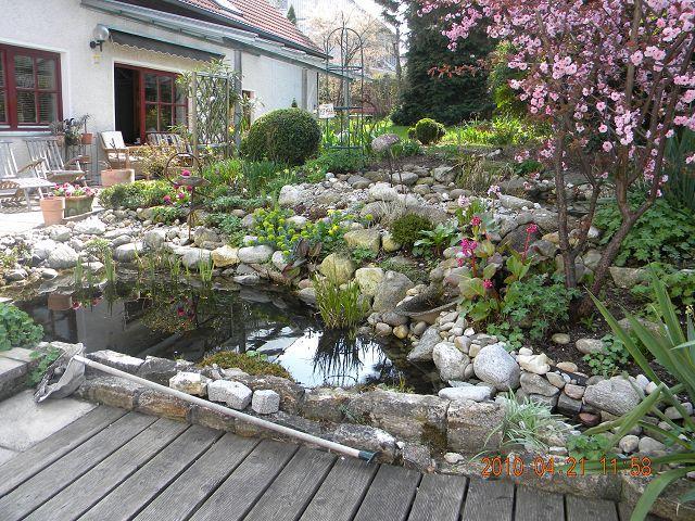 gartengestaltung mit steinen am hang – rekem, Garten Ideen