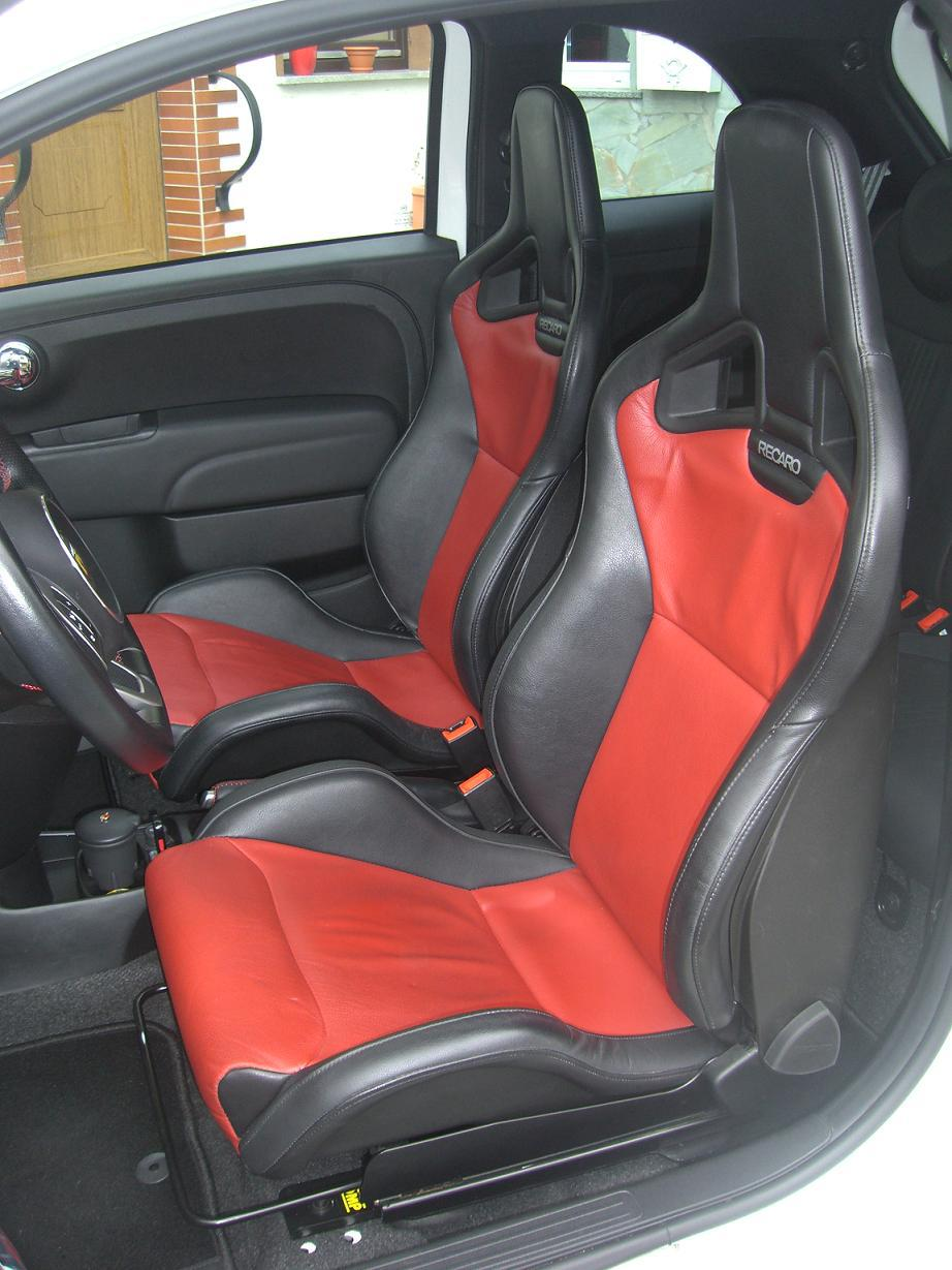 recaro sportster cs im a500 fotos design a500 a500c abarth forum. Black Bedroom Furniture Sets. Home Design Ideas