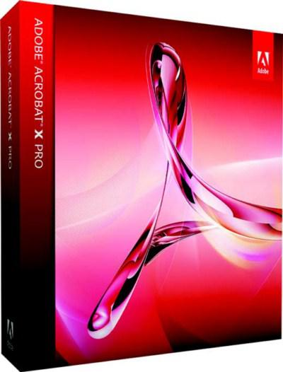 Adobe Acrobat X Pro 10 With Update (Mac OSX)