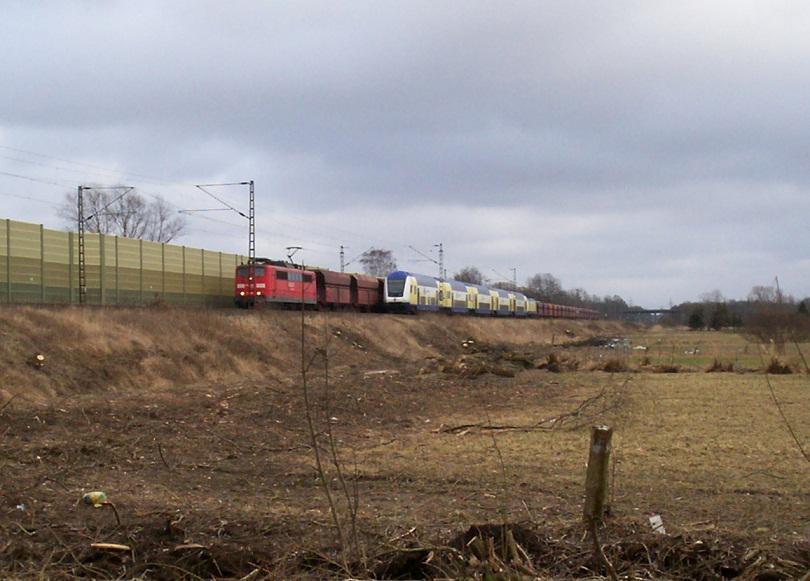Bahnbilder Zug Begegnungen Trainzdepot