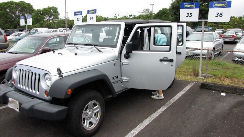 Alamo Car Rental Maui: Welches Auto Gemietet / Welches Auto Bekommen