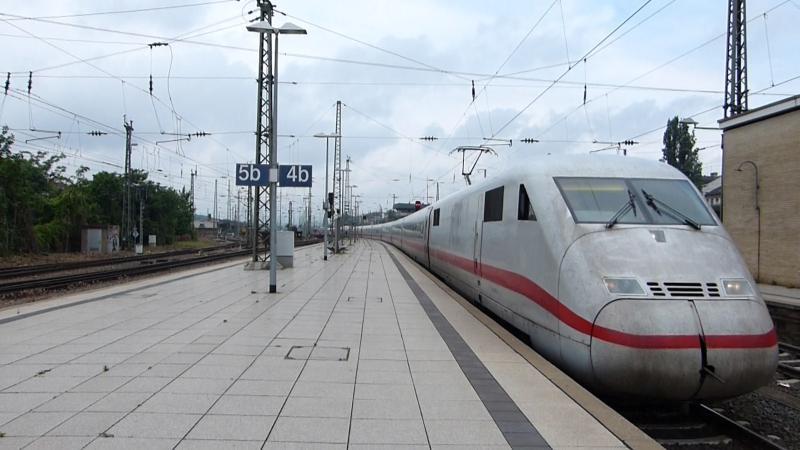 Bahnbilder Eisenbahnen In Bingen Rhein Und Umgebung