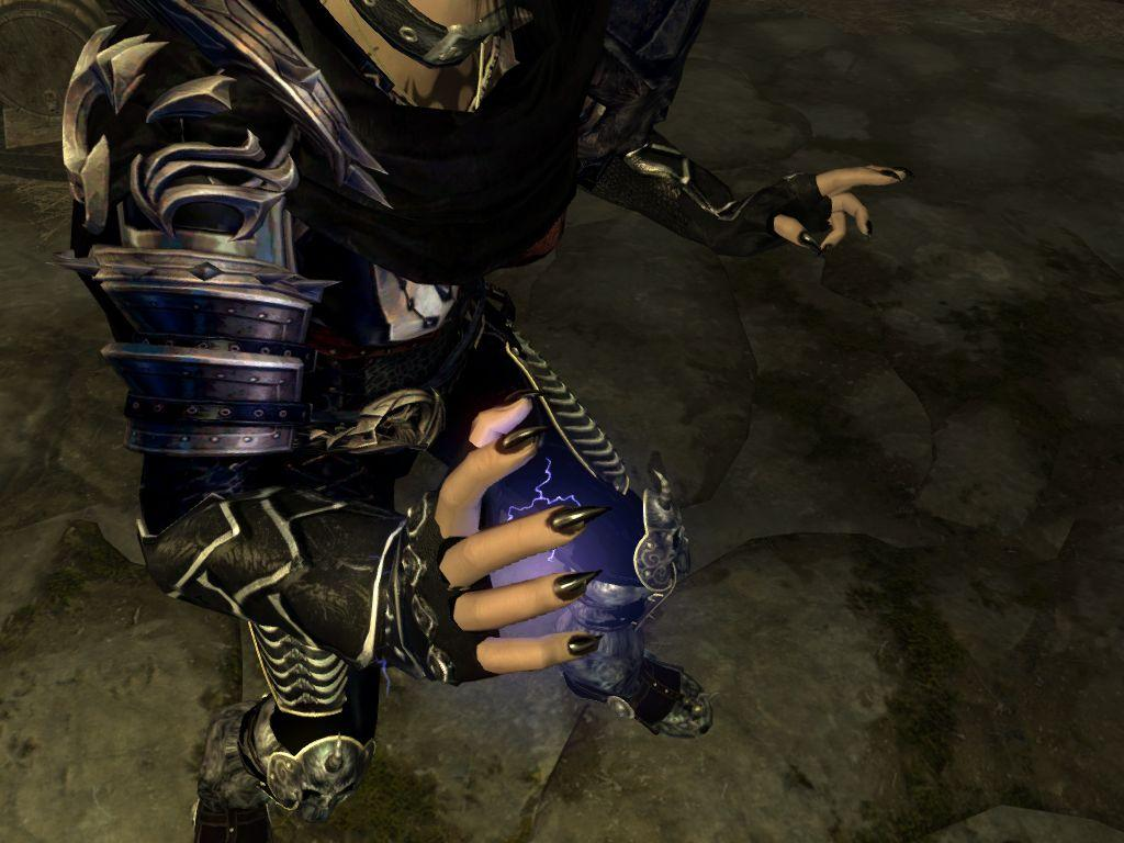 Black gloves skyrim - Spoiler