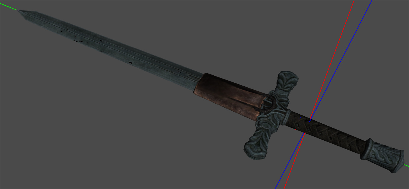 Silver Sword Scabbard Request for Mod or Assistance with Mod