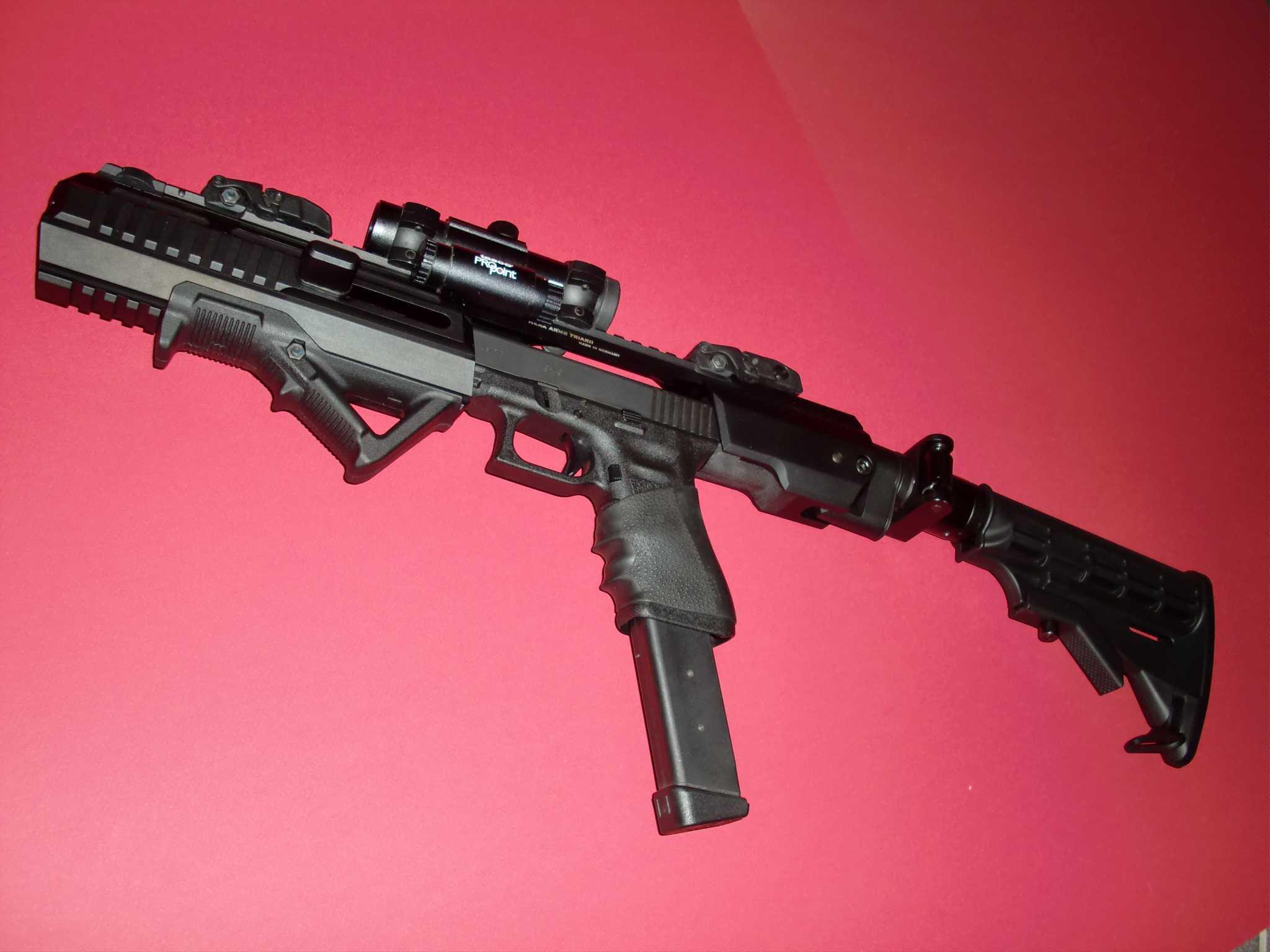 HERA ARMS conversion Kit für Glock 17 - PULVERDAMPF