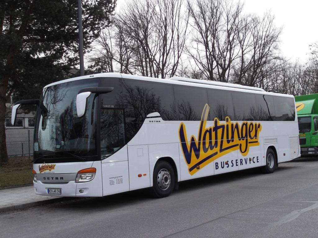 neue watzinger reisebusse regensburger busse. Black Bedroom Furniture Sets. Home Design Ideas