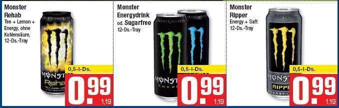 monster energy drink 3 1 gratis aktion bei metro. Black Bedroom Furniture Sets. Home Design Ideas