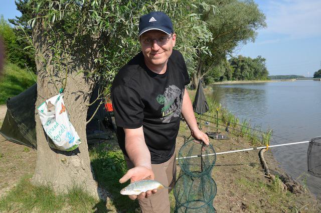 Gemeinsames Fischen in Altenwörth an der Donau in Niederöste