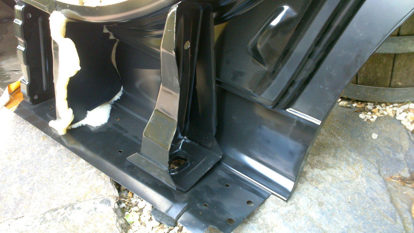 Reparaturbleche Wagenheberaufnahmen Rund Um Den E39