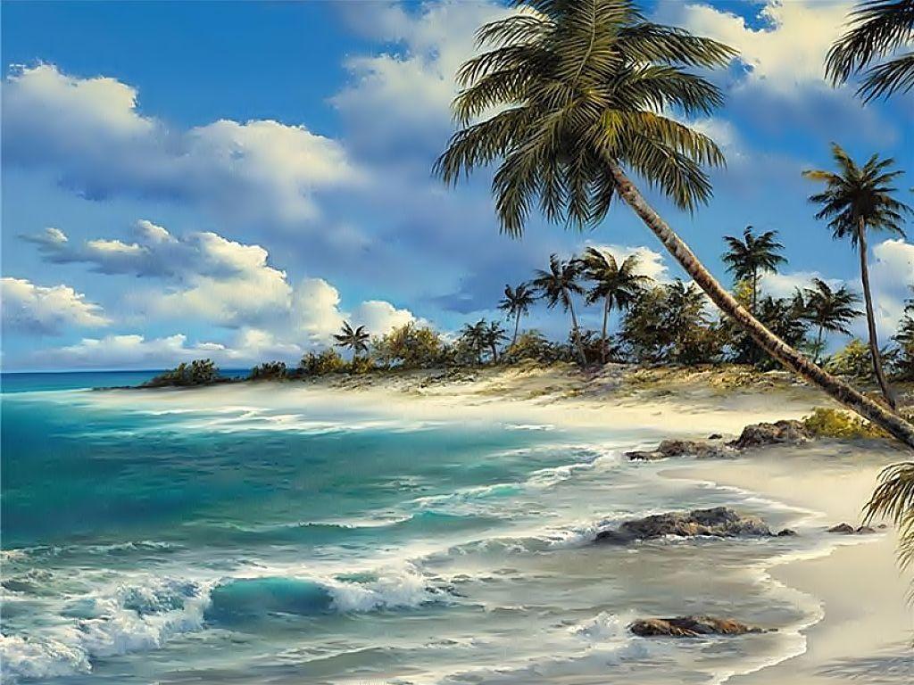 Открытки пейзажи с морем