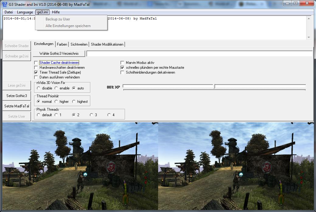 Release] G3 Shader und INI f�r Gothic3 mit CP 1.75 - Seite 2