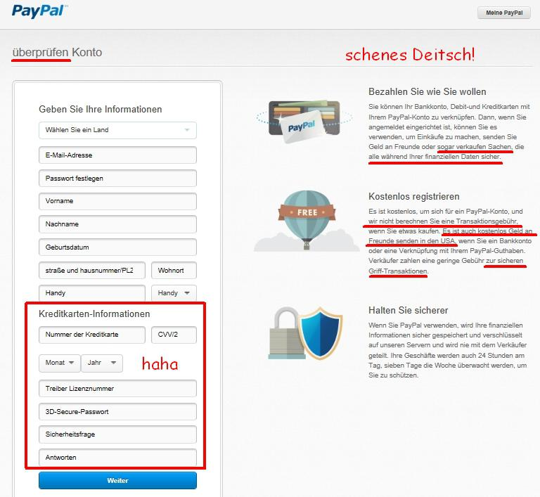 paypal limit einstellen