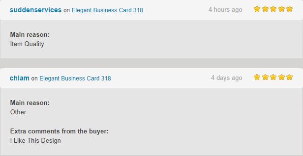 Elegant Business Card 321