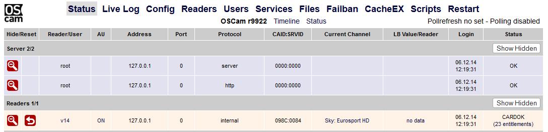 Sky Karte Pairing Aufheben.Server Von Cccam Auf Oscam Umstellen V14 Archiv