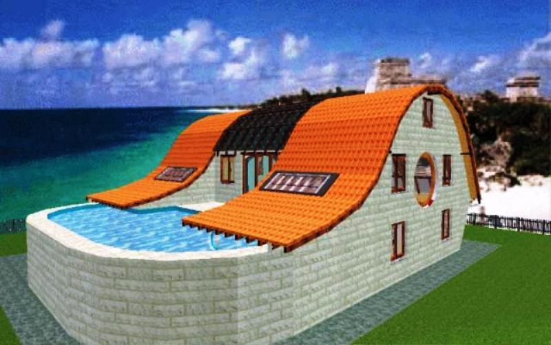 Traumhaus mit pool und garten  Kunst am und mit Bauten: - BlitzBrett :: Wochenblitz - Ihre ...