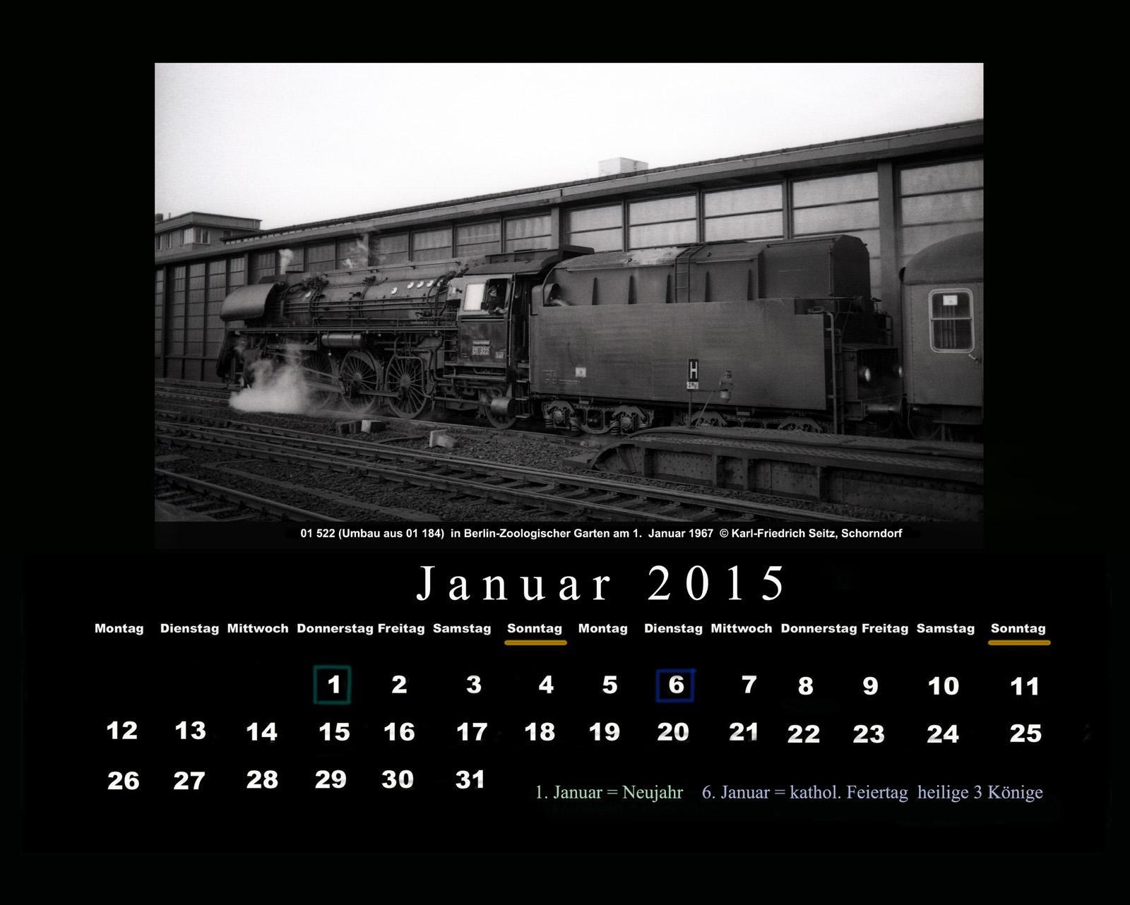 drehscheibe online foren 04 historische bahn dr 1967 01 01 kalender januar 2015 berlin. Black Bedroom Furniture Sets. Home Design Ideas