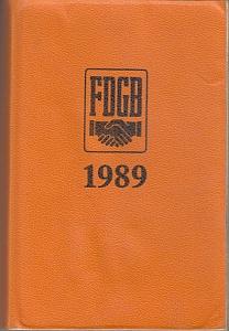 Notizkalender 1989