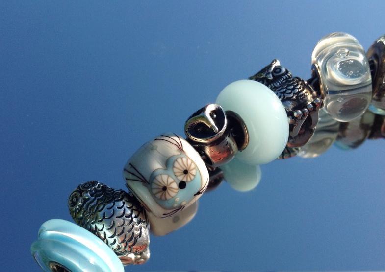 Light blue owl bracelet D1m5m90utqzozp7pj