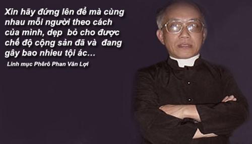 Image result for Linh mục Phan Văn Lợi photos