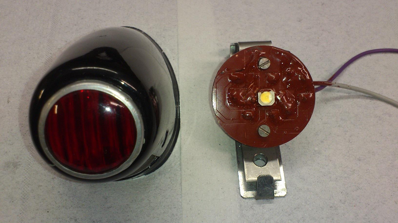 Umbau SGS 250 auf 12 Volt