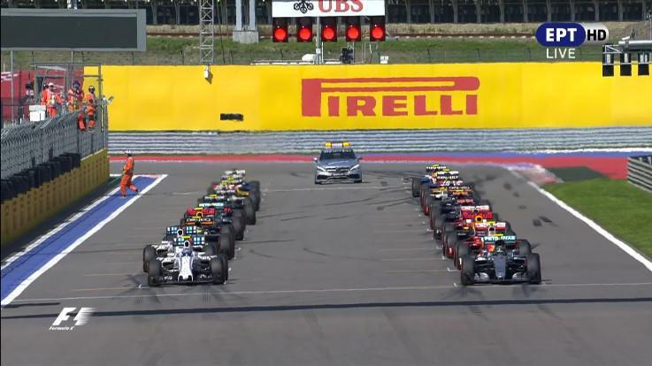 Формула 1 Сезон 2016 Этап 4 Гран-при России Гонка ERT-HD [01.05.2016, Формула 1, XviD [01.05.2016, Формула 1, HDTVRip]