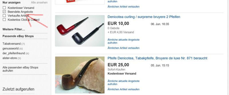 beendete auktionen ebay