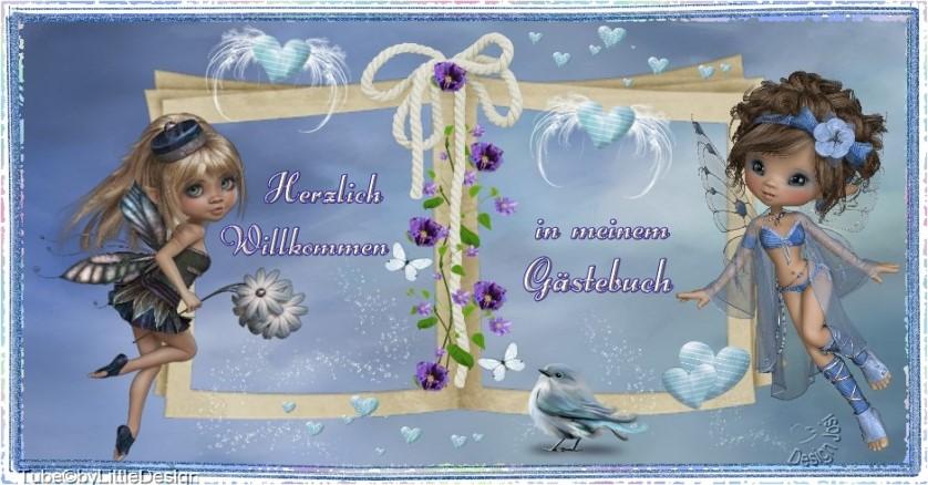 G�stebuch Banner - verlinkt mit http://www.repage5.de/member/bastelspielplatz