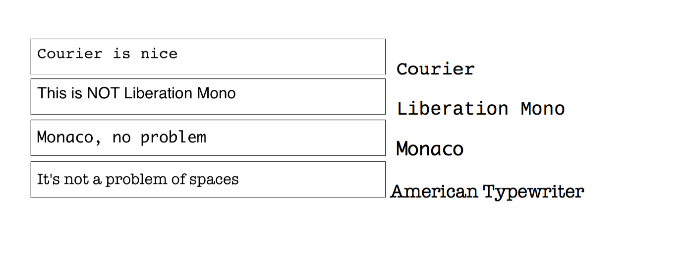 Why does the font Liberation Mono not show up within a PDF form ...