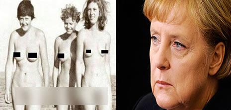Секс фото голой ангелы меркель 61