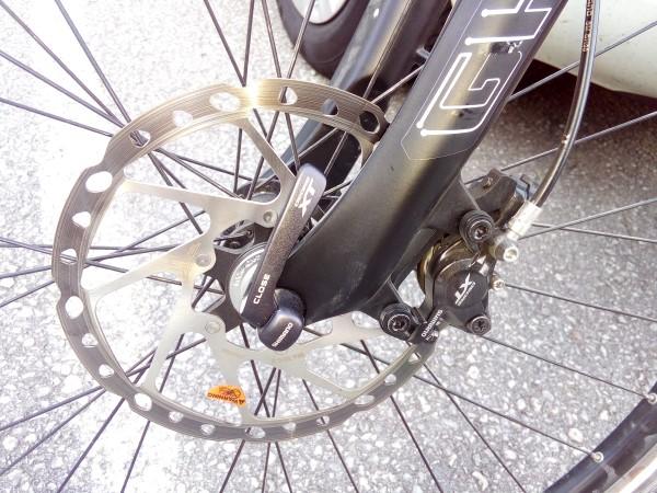 Re: Fahrrad: Angelaufene Bremsscheibe wechseln?