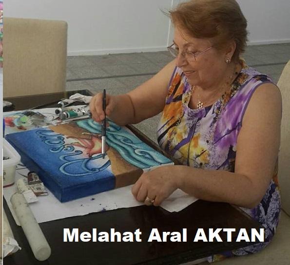 Melahat Aral AKTAN sergisi