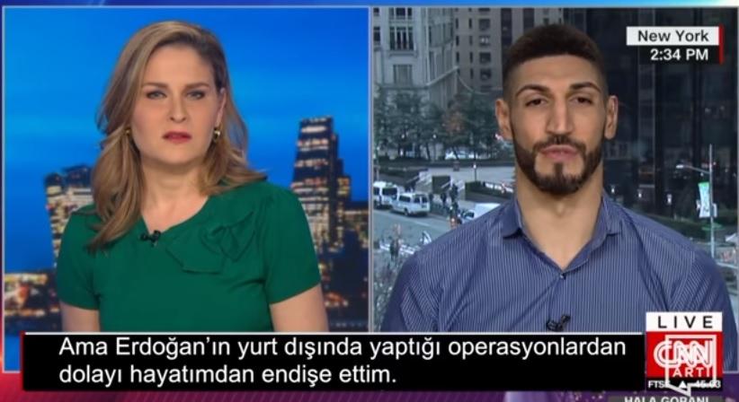 Enes Kanter Amerikan CNN kanalına konuştu