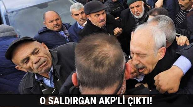 Şehit cenazesinde Kılıçdaroğluna saldıran AKP üyesi çıktı!