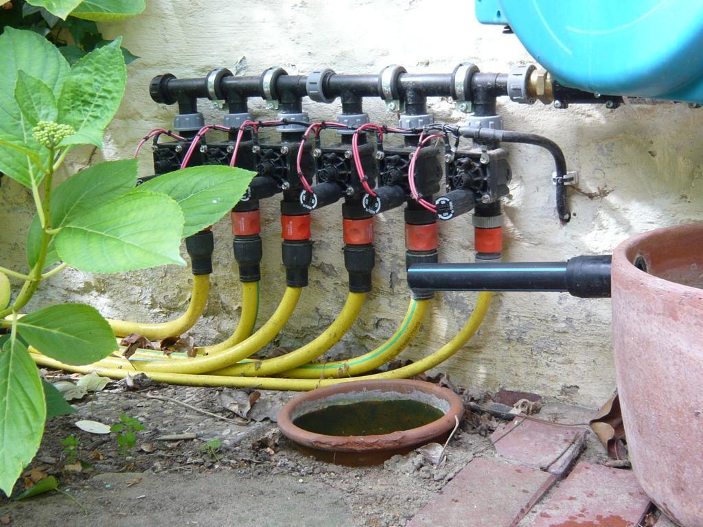 Favorit Pe rohr gartenbewässerung WL11