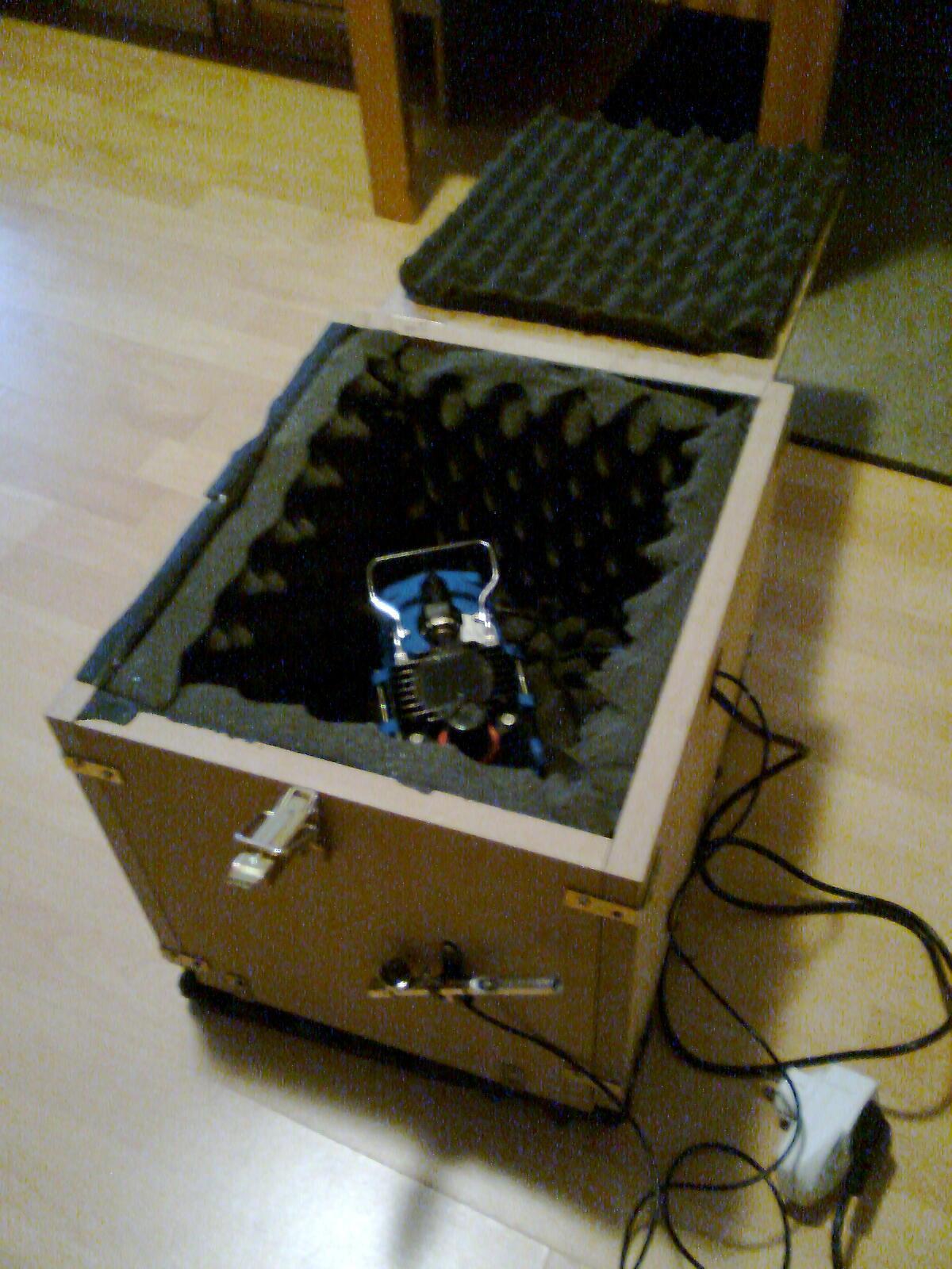 Top Kompressor zu laut? Schallschutzbox bauen! DC26