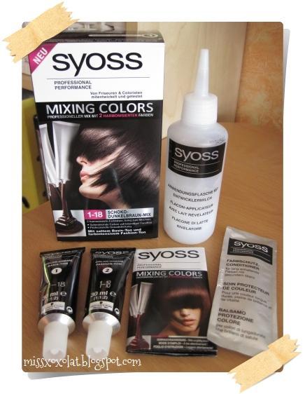 Syoss haarfarbe stillzeit