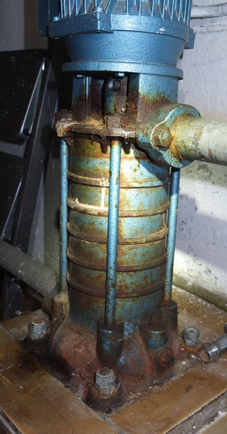 Super Hauswasserwerk - es kommt kein Wasser von der Pumpe IG09