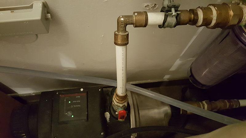 Beliebt Wasserleitung mit Chlor reinigen - HaustechnikDialog SY84